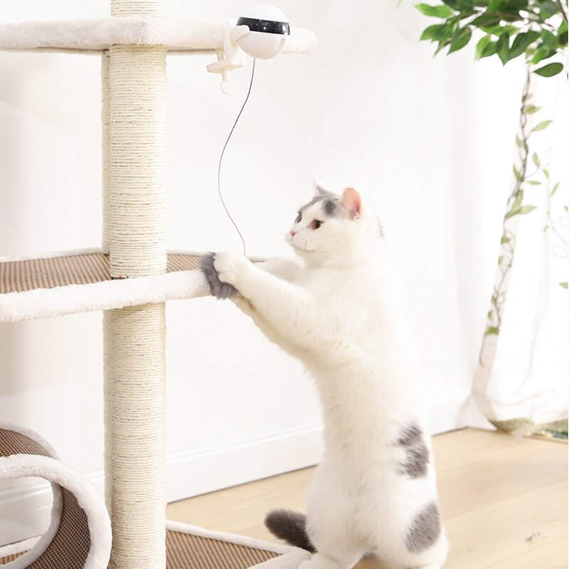Electric Automatic Lifting Cat Ball Toy Interactive Puzzle