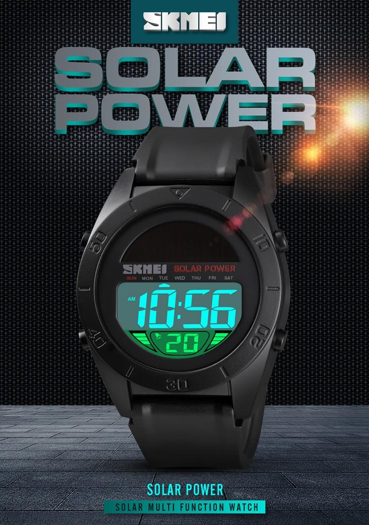 Men's Digital Military Sports Waterproof Electronic