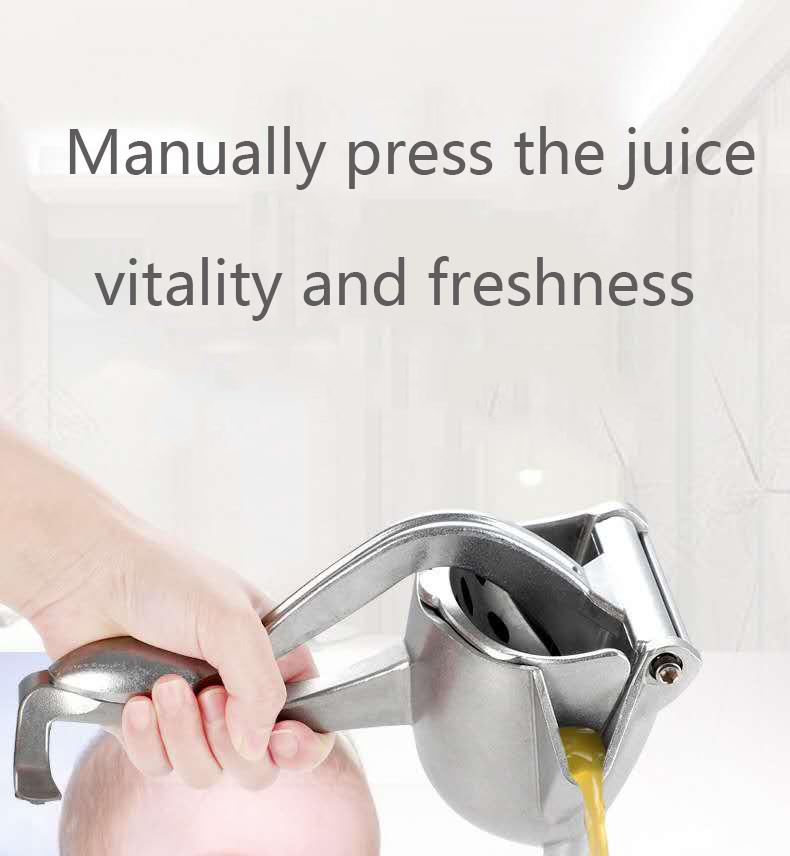 Multifunction Home Manual Juice Squeezer Aluminum Alloy Hand