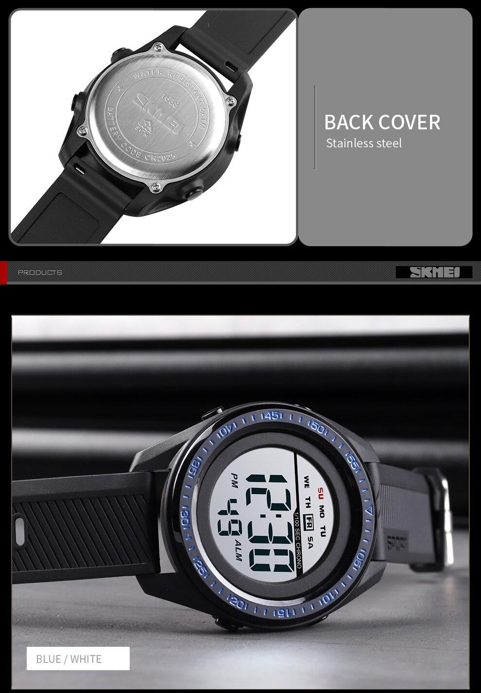 Multifunction Military 5Bar Waterproof LED Digital Watches