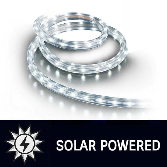 10m LED Solar Rope Light | Cool White goslash fast delivery fast delivery