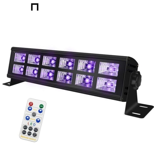ALIEN 12 LED Disco UV Violet Black Lights DJ Disco Stage Lighting Effect UV Party Holiday Wedding Bar Culb Wall Washer Backlight