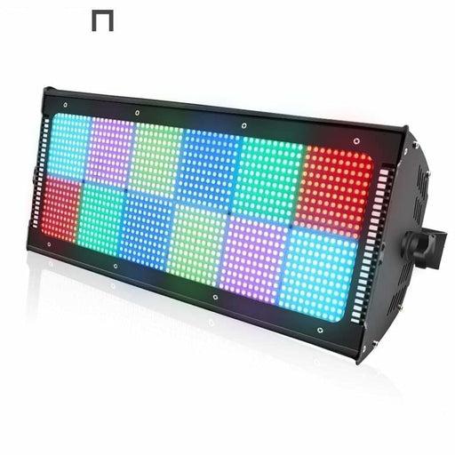 ALIEN 1200 LED RGB Profession DMX Stage Strobe Lighting Effect Music Festival Bar Club DJ Disco Holiday Party Flash Show Light