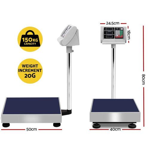 150kg Digital Platform Scale Electronic Scales Shop Market