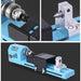 150W Mini Lathe Beads Machine Buddha Pearl Lathe DIY Woodworking Lathe Milling Machine Grinding Polishing Drill Rotary Tools