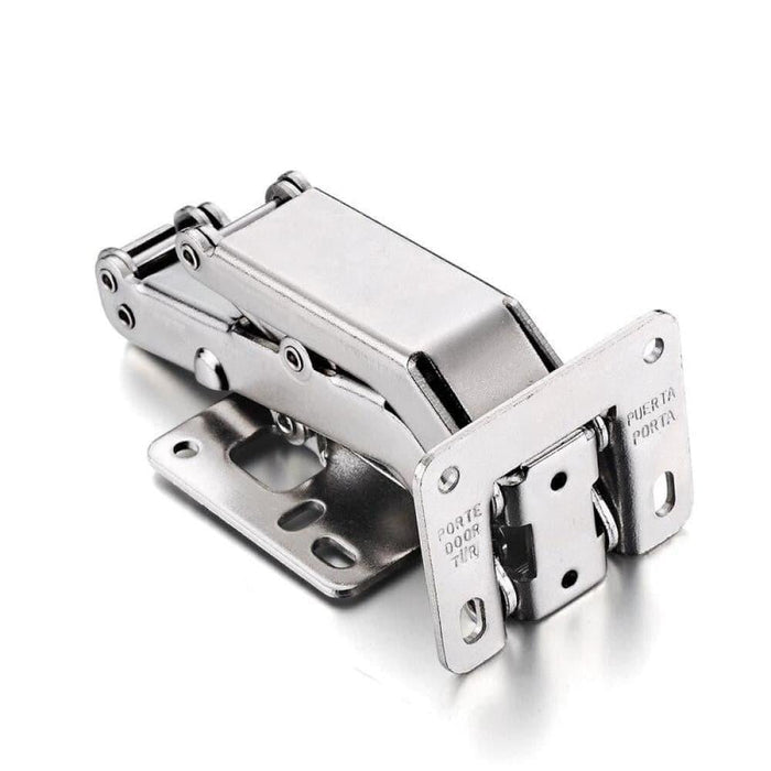 NAIERDI 165/170/175 Degree Hinge No-Drilling Hole Spring Angle Hinges For Cabinet Cupboard Door Thick Board Furniture Hardware