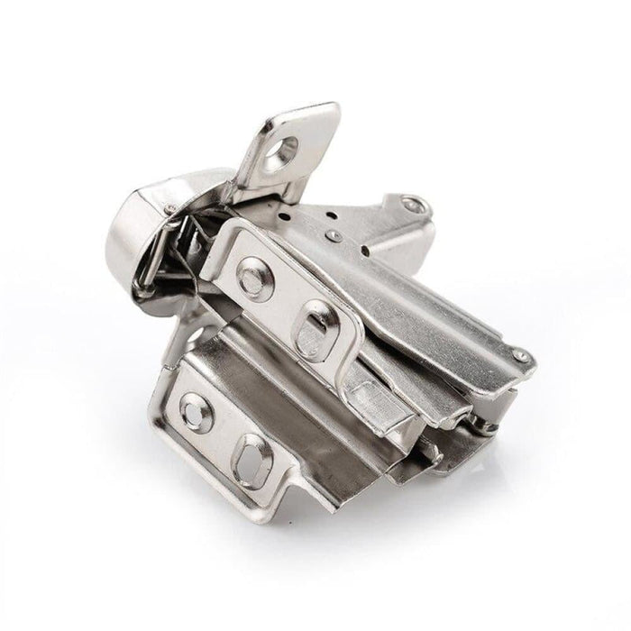 NAIERDI 175 Degree Hinges Cold Rolled Steel Fixed Cabinet Cupboard Door Thick Board Angle Hinge For Furniture Hardware