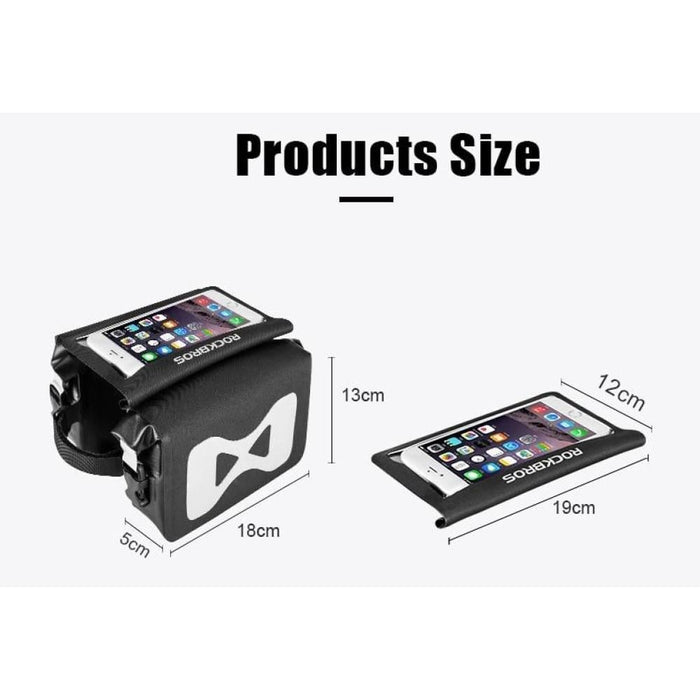 2 In 1 Portable Phone Touch Screen Cycling Bag