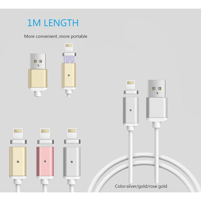 2 pack Magnetic Charge Cable for iPhone (8 Pin ) | Random color goslash fast delivery fast delivery