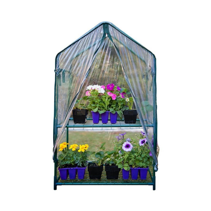 2 Tier Mini Greenhouse with PVC cover goslash fast delivery fast delivery