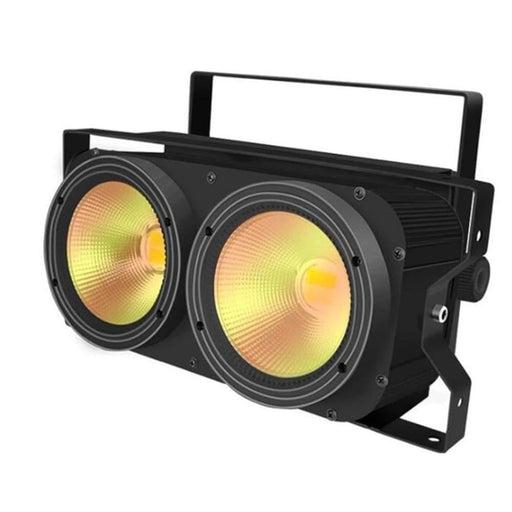 ALIEN 200W 2Eyes COB LED Audience Blinder Light Warm White Stage Lighting Effect DJ Disco Party Holiday Bar Club Wedding Lights