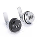 NAIERDI 20mm/30mm Combination Cabinet Lock Zinc Alloy Password Locks Security Home Cam Lock For Mailbox Cabinet Door Hardware