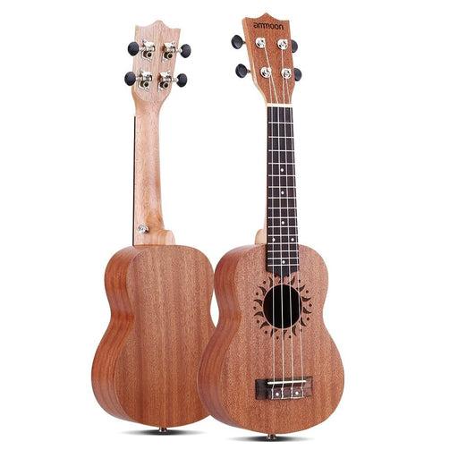 """ammoon 21"""" Ukulele 15 Frets 4 Strings Acoustic Ukulele Stringed Musical Instrument"""