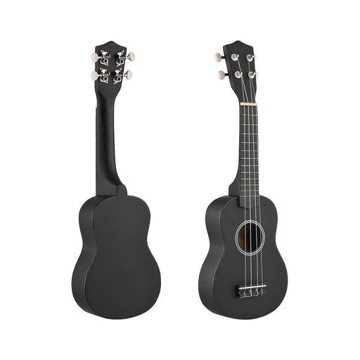 """21"""" Ukulele Set Colored Acoustic Soprano Ukulele Ukelele Kit Basswood with Carry Bag Strap Strings Picks Guitar Tuner"""