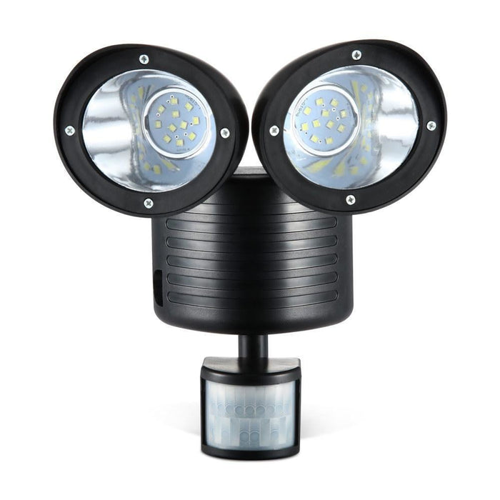 22 LED Solar Powered Dual Flood Lamp goslash fast delivery fast delivery