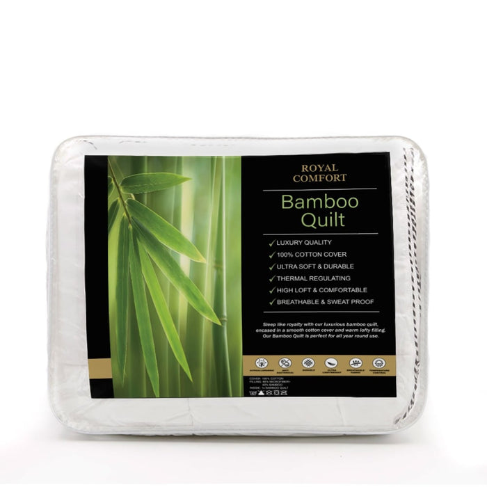 250GSM Bamboo Blend Quilt With 1100GSM King Size Hotel