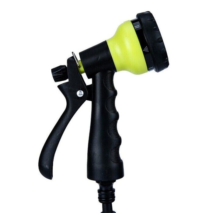 25FT-75FT Water Hose with 7 Pattern Plastic Watering Spray