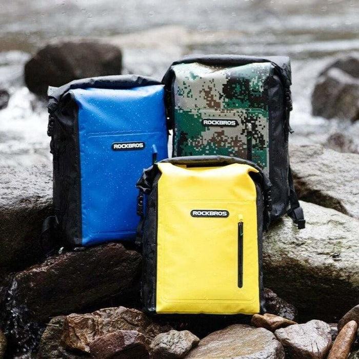 ROCKBROS Waterproof Sport Bag 25L Beach Bag Swimming PVC