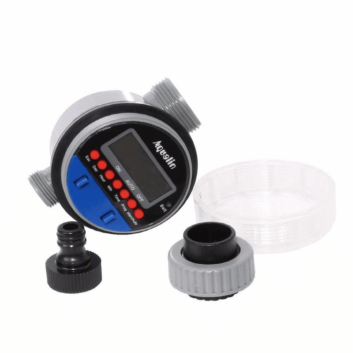 2pcs Electronic LCD Display Home Ball Valve Water Timer