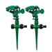 2pcs/lot prinkler 360 Degree Adjustable Lawn Grass Rotatable