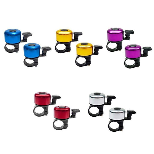 2x Metal Mountain Road Bike Bells Safety Cycling Sound Alarm Horn Bicycle Handlebar Call Ring Mountain Road Bike Bells