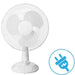 3 Speed Desk Fan | 30 cm | White goslash fast delivery fast delivery