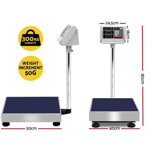 300kg Digital Platform Scale Electronic Scales Shop Market