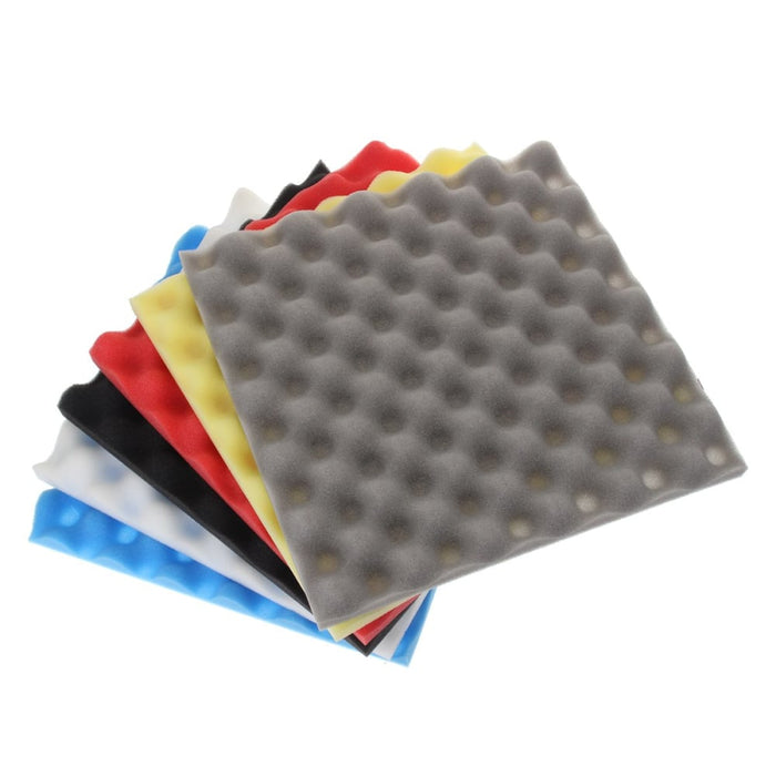30*30*3cm Wedge Foam Tiles Karaoke Wall Studui Acoustic Panel Soundproofing