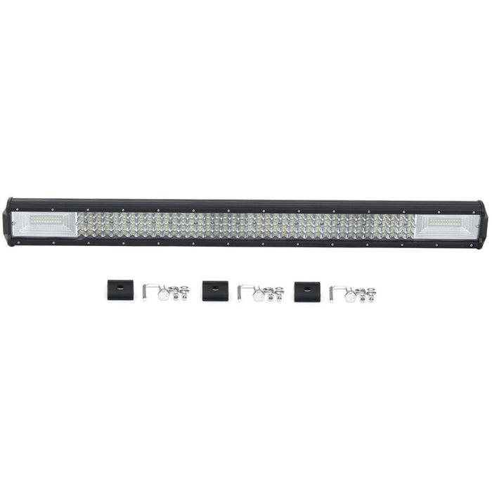 """32"""" 208LED White LED Light Bar Aluminum Alloy Shell Work Light For ATV Off-road 1800W Quad Row"""