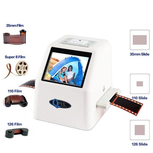 """35mm Film Scanner 22 Mega Pixels Negative Slide Scanner 110 135 126KPK Digital Film Converter with 2.4""""LCD Support Russian"""