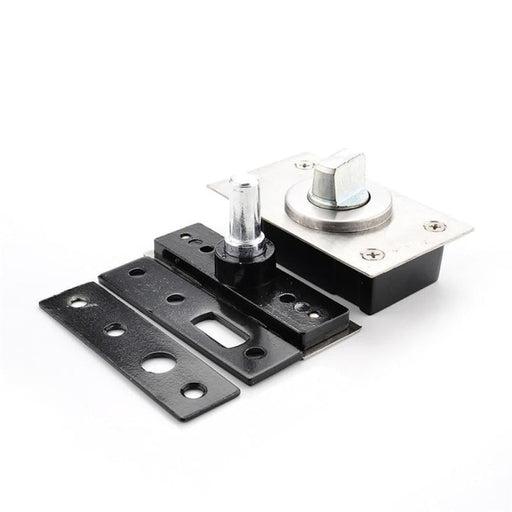 NAIERDI 360 Degree Revolving Door Hinge 90 Degrees Positioning Hidden Floor Pivot Hinges For Furniture Hardware