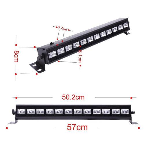36w Uv Stage Black Light Led Bar Remote Control Dmx Stage