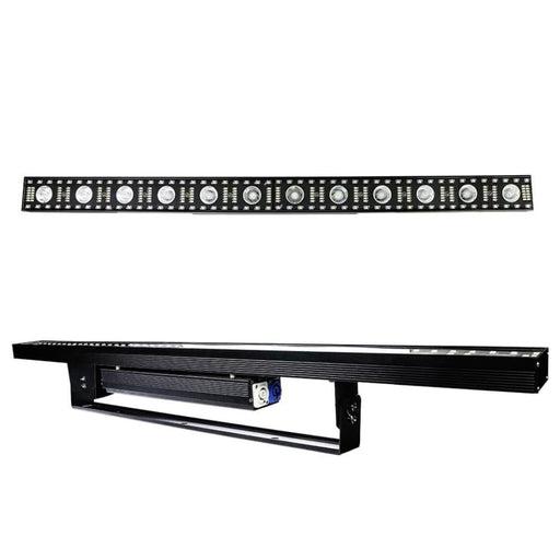 ALIEN 3IN1 RGB Warm White LED Point Control Beam Wall Wash DJ Disco Party Holiday Wedding Xmas KTV Bar DMX Stage Lighting Effect