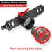 ROCKBROS Bicycle Smart Auto Brake Sensing Light IPx6