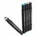 40 Colors Art Marker Double Head Sketch Alcohol Marker Pen Set Watercolor Brush Pen Liners Drawing