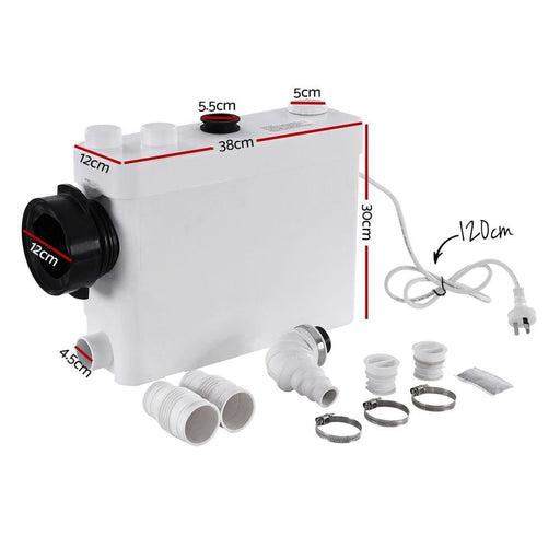 400w Macerator Sewerage Pump Waste Toilet Sewage Water