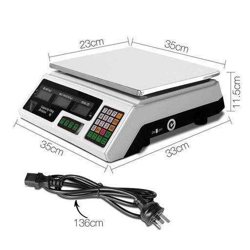 40kg Digital Kitchen Scale Electronic Scales Shop Market