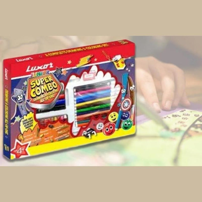 45pc Luxor kid's art set goslash fast delivery fast delivery