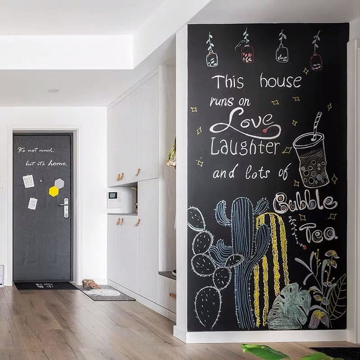 45x100cm Chalkboard Wall Stickers for Kids Room Play Room