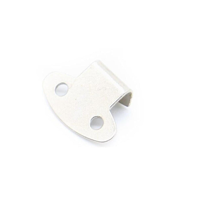 4PC NAIERDI-J106 Cabinet Box Locks Spring Loaded Latch Catch Toggle 27*63 Iron Hasps For Sliding Door Window Furniture Hardware