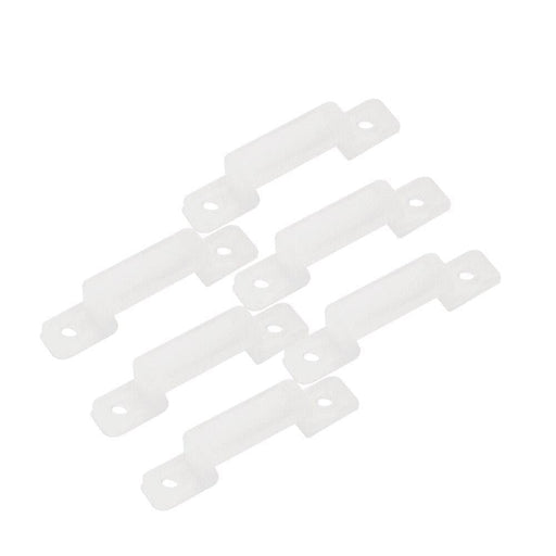 50pcs/lot Fix LED strip Silicon gel holder 12mm LED connector clip for fixing flexible light strip 3528 5050 5630 5730