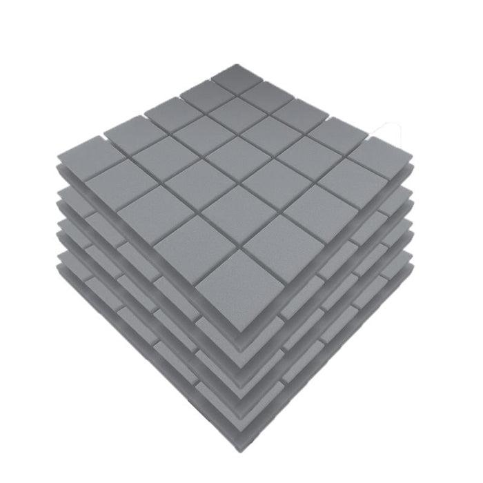 50x50x5cm Acoustic Wall Panels SoundProof Foam Pads Studio Treatments Tools