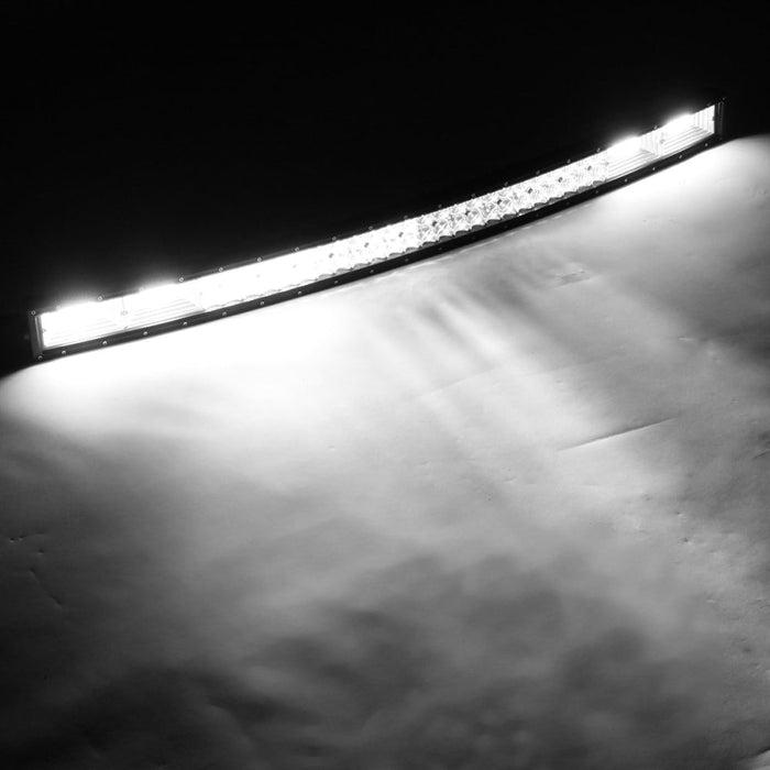 5D 42 Inch 3030 156Led DC10-30V 1400W 216000LM 6000K Off Road LED Light Bars Car Working Lamp IP68 Waterproof