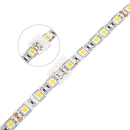 5PCS 10mm 2 pin Quick Connector for 5050,5630,5730 single color  LED Strip Light ,Free solder