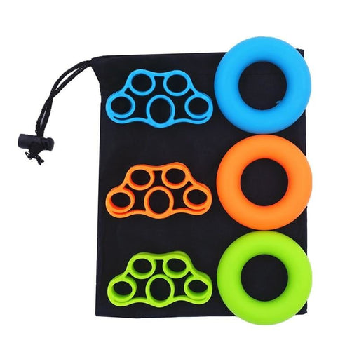 6 Pcs Multi-function Silicone O-ring Hand Grip Gripper