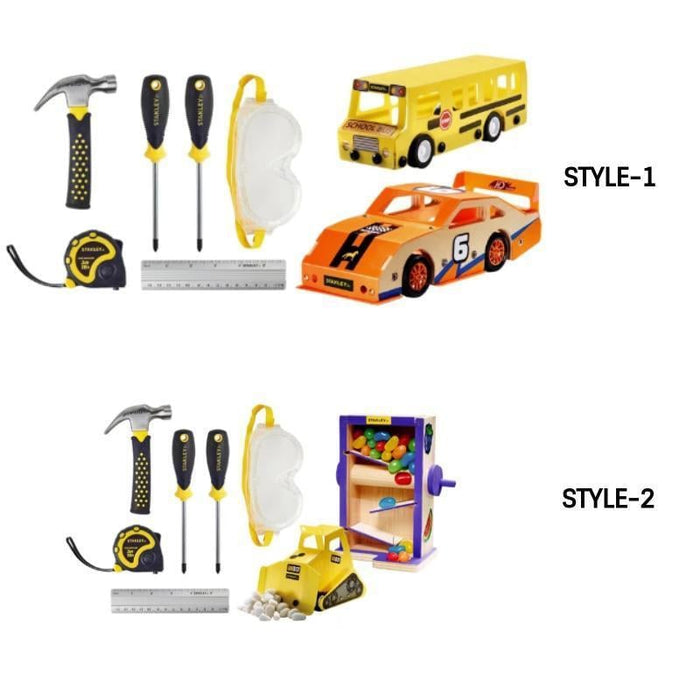 6 Piece Tool Kit& 2 Woodworking Kits | Available in 2 styles goslash fast delivery fast delivery