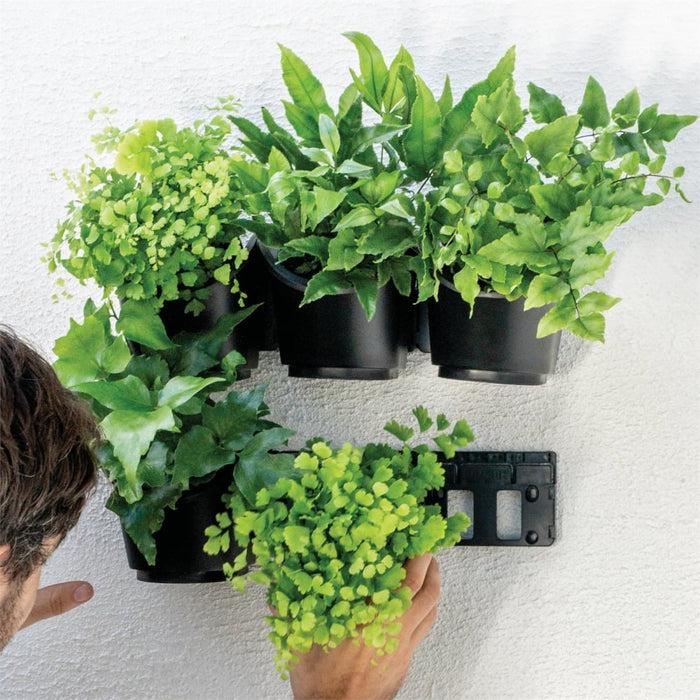 6 Pot Connectable DIY Vertical Garden goslash fast delivery fast delivery