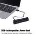 ROCKBROS Bike Headlight 700Lumen Replaceable Battery USB