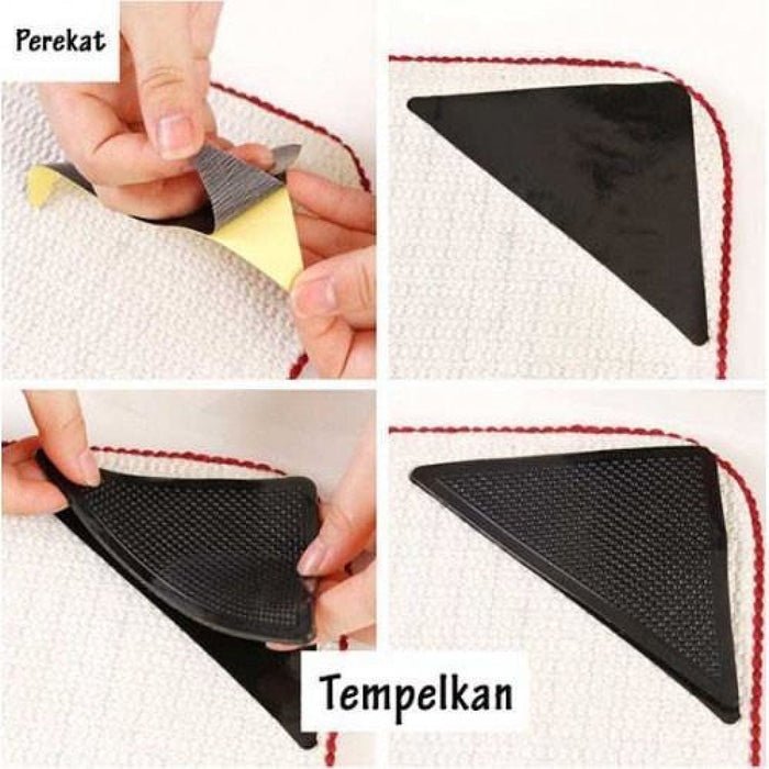 8pc Reuseable Rug Grippers goslash fast delivery fast delivery