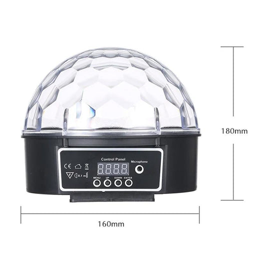 9 Colors Led Disco Ball Dmx Crystal Magic Ball Stage